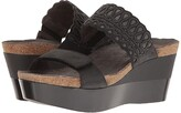 Naot Footwear Rise (Oily Coal Nubuck/Shadow Gray Nubuck) Women's Sandals