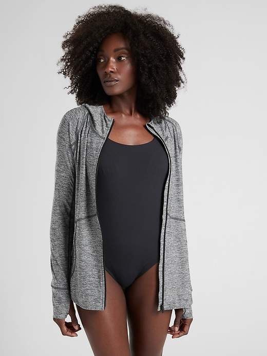 Athleta Baja UPF Jacket Heather