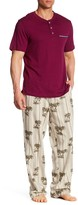 Tommy Bahama Yarn Dyed Pajama 2-Piece Set