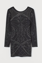 H&M Bodycon dress with studs