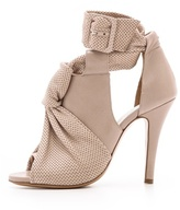 Maison Martin Margiela Leather Knot Sandals