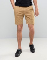 Ps By Paul Smith Chino Shorts Slim Fit In Tan