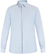 Valentino Double-cuff Oxford-cotton Shirt