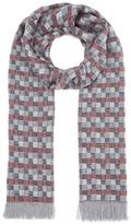 Nick Bronson Optical All-over Pattern Scarf