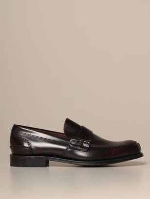 Church's Churchs Loafers Churchs Tunbridge Loafer In Brushed Leather