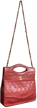 Chanel 31 Vintage Red Leather Handbags