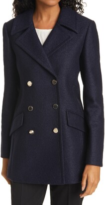 Ted Baker Catiiey Double Breasted Peacoat
