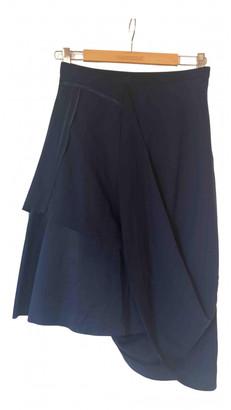 Maison Martin Margiela Pour H&m Blue Polyester Skirts