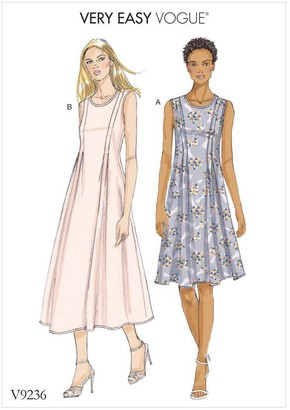Vogue Women's Dress Sewing Pattern, 9236