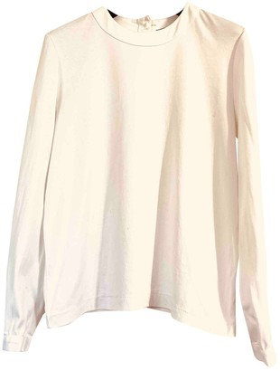 Chanel White Cotton Top for Women Vintage