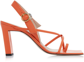 Wandler Elza Strappy Leather Sandals