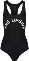 The Upside Printed Swimsuit - Black