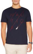 Nautica Short Sleeve Cotton Tee Strike