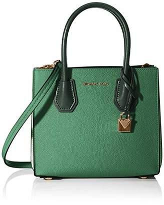 Michael Kors Mercer Pebbled Leather Accordion Crossbody Women's Cross-Body Bag,(B x H x T)