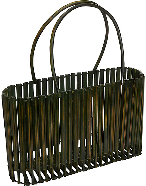 Global Elements Collapsible Bamboo Handbag