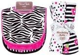 Trend Lab Bouquet Set - Zahara - Bib & Burp Cloth by