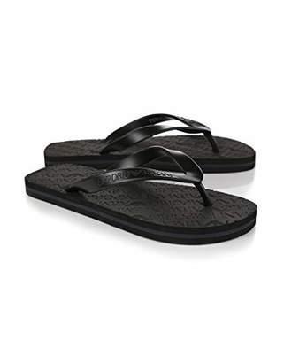 Emporio Armani Men's Designer Flip Flop Slipper