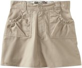 U.S. Polo Assn. U.S. Polo Association School Uniform Big Girls' Ditsy Waistband Twill Scooter Skirt