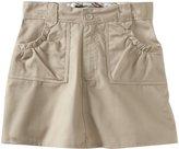 U.S. Polo Assn. U.S. Polo Association School Uniform Big Girls' Ditsy Waistband Twill Scooter Skirt