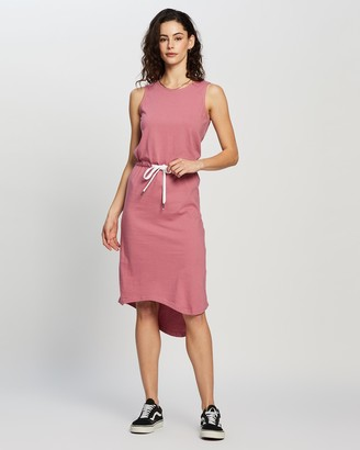 Silent Theory Waisted Midi Dress