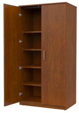 Mobile Casegoods Storage Cabinet Marco Group Inc. Finish: Almond