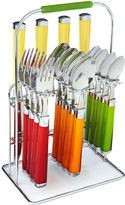 Fiesta Temptation Multi 16-pc. Flatware Set with Rack