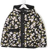 Marni floral print puffer jacket