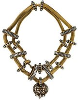 Erickson Beamon Crystal Snake Chain Necklace