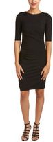 Susana Monaco Ruched Sheath Dress
