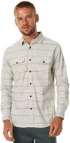 Katin Reeds Woven Flannel Ls Mens Shirt White