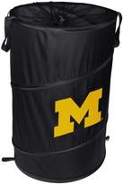 Unbranded Michigan Wolverines Cylinder Pop Up Hamper