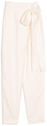 Apiece Apart Isa Wrap Pant in Cream