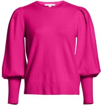 Jonathan Simkhai Cashmere Puff Sleeve Sweater
