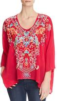 Johnny Was Valerie Embroidered Blouse