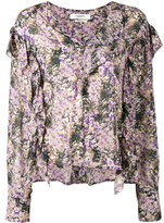 Etoile Isabel Marant Ruffle seam blouse - women - Viscose - 36