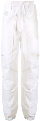 Boramy Viguier High-Waisted Cargo Trousers