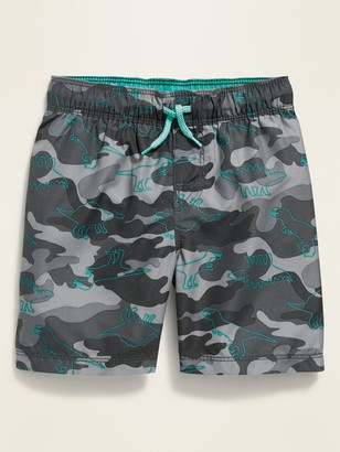 Old Navy Camo-Print Swim Trunks for Toddler Boys