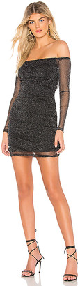 superdown Mia Sparkle Mesh Dress