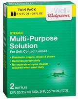 Walgreens Multi-Purpose Contact Lens Solution