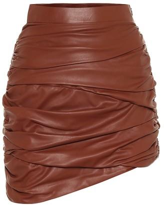 ZEYNEP ARCAY Leather miniskirt