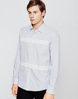 Soulland Asklund Shirt White & Blue