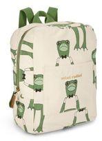 Mini Rodini Kid's Frog Printed Backpack