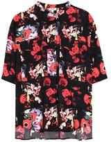Kenzo Printed silk top