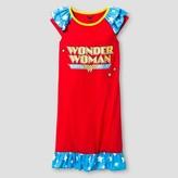 DC Comics Girls' DC Comics® Wonder Woman Nightgown - Red