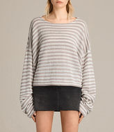 AllSaints Casso Cropped Sweater