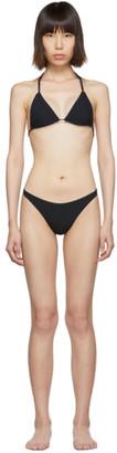 Kiki de Montparnasse Black Mer Triangle Bikini