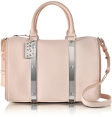 Sophie Hulme Blossom Pink Charlton Leather Medium Bowling Bag