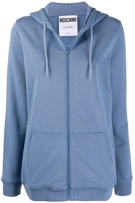 Moschino Cotton Zip-Up Hoodie