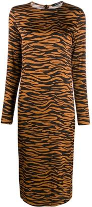 Andamane Zebra Print Dress