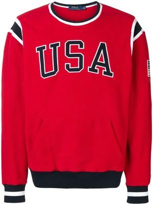Polo Ralph Lauren USA fleece jumper
